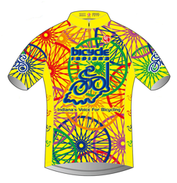 Bicycle Indiana Jersey - Front